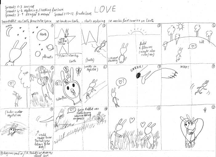 Love storyboard large