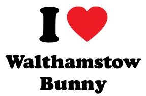 I heart Walthamstow Bunny